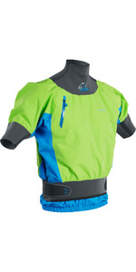 2020 Palm Zenith Whitewater Short Sleeve Kayak Jacket Lime Ocean 12391
