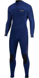 2020 Prolimit Mens Fusion 5/3mm Back Zip Wetsuit 16020 - Navy