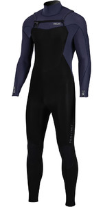 2020 Prolimit Mens Fusion 5/3mm Free Zip Wetsuit 16025 - Teal / Black