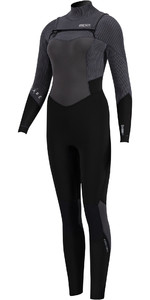 2020 Prolimit Womens Flare 5/3mm Free Zip Wetsuit 15057 - Black / Ivory