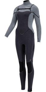 2020 Prolimit Womens Oxygen TR 6/4mm Free Zip Wetsuit 15030 - Mist / Grey