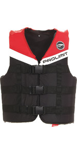 Prolimit 50N 3-Buckle Impact Ski Vest Sort / Rød 53260