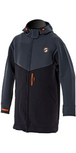 2018 Prolimit Double Lined Racer Jacke in Schwarz / Orange 05021