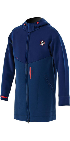 2018 Prolimit chaqueta con doble Prolimit racer en azul oscuro / naranja 05021