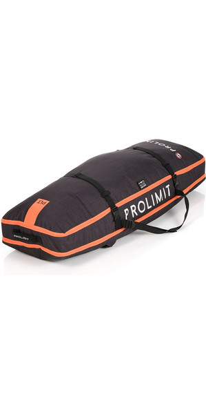 2018 Prolimit Kitesurf Global Twin Tip Board Bag 140x45 Nero / Arancione 83330