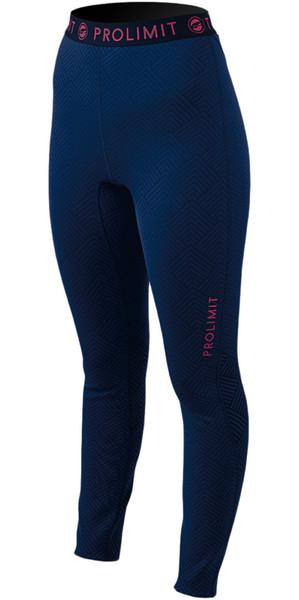 Prolimit Ladies SUP Pantalones deportivos de Dry rápido Azul / Rosa 74760