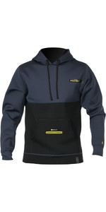 2019 Prolimit Mens Loosefit Neoprene Hoody Slate / Yellow 05052