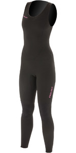 2020 Prolimit Womens 1.5mm SUP Long John Wetsuit 84720 - Black / Pink