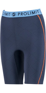 2020 Prolimit Kvinder 2mm Airmax Neopren Sup Shorts 84780 - Skifer Sort / Blå / Orange