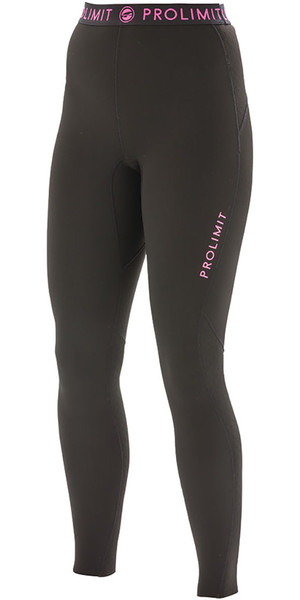 2018 Prolimit Womens 1mm Airmax Neoprene SUP Pantaloni nero / rosa 84740