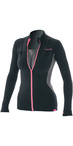 Prolimit mujer Loosefit Convertible SUP Top negro / rosa 84705