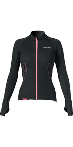2019 Prolimit Womens Loosefit Quick Dry SUP Top Nero / Rosa 84700