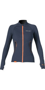 2019 Prolimit Womens Loosefit Quick Dry SUP Top Slate / Arancione 84700
