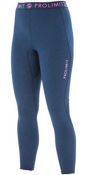 2018 Prolimit Womens SUP Athletic Pantalones de Dry rápido Azul / Rosa 84760