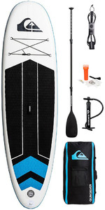 "Quiksilver Isup 10'6x32 ""oppustelig Stand Up Paddle Board Inkl. Pumpe, Padle, Taske Og Snor Eglisqs106"