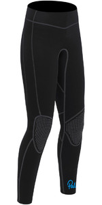 2019 Palm Quantum Womens 3mm Flatlock Wetsuit Trousers Black 12239