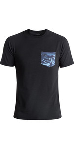 2018 Quiksilver Bubble UV50 Surf Tee NOIR EQYWR03093