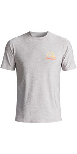 Quiksilver Heritage UV50 Surf T-Shirt SILBER EQYWR03092