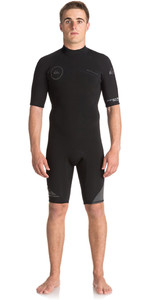 Quiksilver Syncro Series 2mm Back Zip Shorty Våddragt Jet Black Eqyw503006