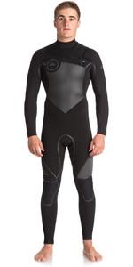 Quiksilver Syncro Plus 5/4 / 3mm Brystkasse GBS Wetsuit JET BLACK EQYW103046