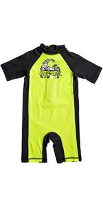 Quiksilver Jungen Bubble Spring Rash Anzug Sicherheit Gelb Eqkwr03021