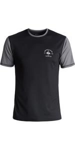 Quiksilver Colour Blocked Kurzarm Surf T-Shirt BLACK EQYWR03089