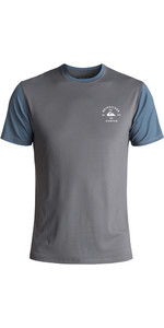 Quiksilver Farbe blockiert Kurzarm Surf T-Shirt NAVY EQYWR03089