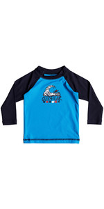 Quiksilver Infant Bubble Dream Rash Vest manica lunga BLU EQIWR03013