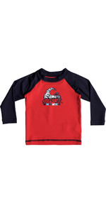 Quiksilver Infant Bubble Dream Rash Vest manica lunga QUIK RED EQIWR03013