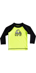 Quiksilver Infant Bubble Dream Maglia manica lunga a manica lunga SAFETY YELLOW EQIWR03013