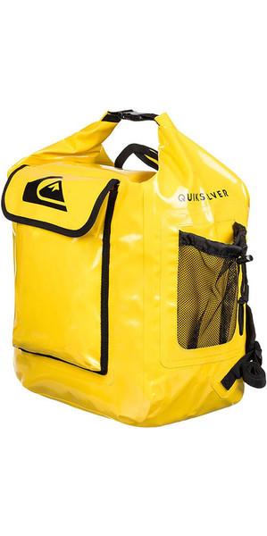 2018 Quiksilver Deluxe Wet Dry sac / sac à dos jaune EGLQSWBBKP