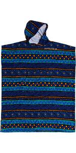 2020 Quiksilver Hoody Towel Change Robe EQYAA03884 - Black / Blue