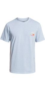 2021 Quiksilver Men's Heritage Heather Upf 50 Surf Tee Eqywr03321 - True Navy