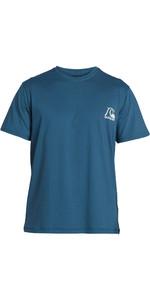 2020 Quiksilver Heritage Rash Vest Met Korte Mouwen Voor Heren EQYWR03236 - Majorlica Blauw