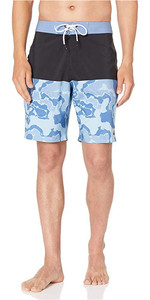 "2019 Quiksilver Highline Division Deluxe 19 ""boardshorts Blue Yonder Eqybs04295"