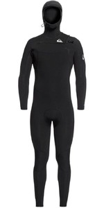 2020 Quiksilver Mens Syncro 5/4/3mm Chest Zip Wetsuit EQYW203014 - Black / Silver