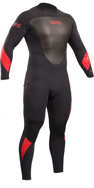 2019 Gul Resposta 4/3 mm Voltar Zip GBS Wetsuit Preto RE1246-B4