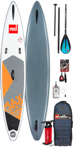 "2019 Red Paddle Co Max Race 10'6 x 24 ""Stand Up Paddle Board inflable + bolsa, bomba, pala y correa"