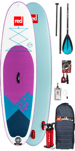 2019 Red Paddle Co Ride 10'6 SE Aufblasbares Stand Up Paddle Board - Paddelpaket aus Aluminium