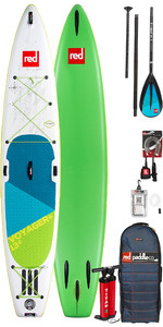 2018 Red Paddle Co Voyager 13'2 Aufblasbare Stand Up Paddle Board + Tasche, Pumpe, Paddel & Leine