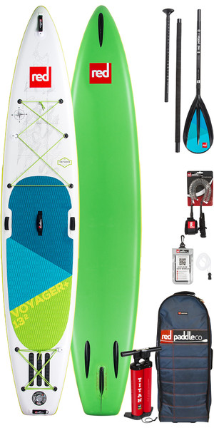 2019 Red Paddle Co Voyager 13'2 gonfiabile Stand Up Paddle Board + Borsa, pompa, paddle e guinzaglio