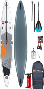 "2019 Red Paddle Co Elite 14'0 x 25 ""Stand Up Paddle Board inflable + bolsa, bomba, pala y correa"
