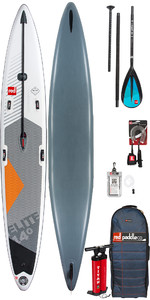 "2019 Red Paddle Co Elite 14'0 X 27 ""aufblasbares Stand Up Paddle Board + Tasche, Pumpe, Paddle & Leine"