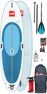 2019 Red Paddle Co Windsurf 10'7 Aufblasbares Stand Up Paddle Board + Tasche, Pumpe, Paddle & Leine