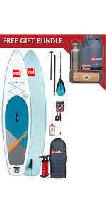 2019 Red Paddle Co Sport 11'0 Inflable Stand Up Paddle Board Package + Paquete de regalo gratis