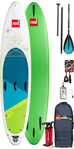 2018 Red Paddle Co Voyager 12'6 Inflatable Stand Up Paddle Board + Bag, Pump, Paddle & Leash