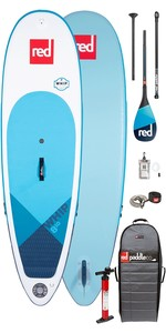 """2020 Red Paddle Co Whip MSL 8'10 """"Planche De Stand Up Paddle Board Gonflable - Pack Carbone 100 Paddle"""