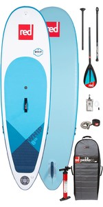 """2020 Red Paddle Co Fouet Msl 8'10 """"gonflable Stand Up Paddle Board - Paquet De Paddle Carbone / Nylon"""