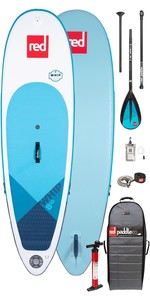 "2020 Red Paddle Co Whip MSL 8'10 ""aufblasbares Stand Up Paddle Board - Paddelpaket Aus Aluminium"