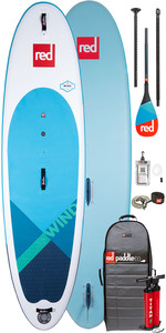 "2020 Red Paddle Co Windup 10'7 ""inflável Stand Up Paddle Board , Saco, Bomba, Trela E Carbono 50 Paddle"